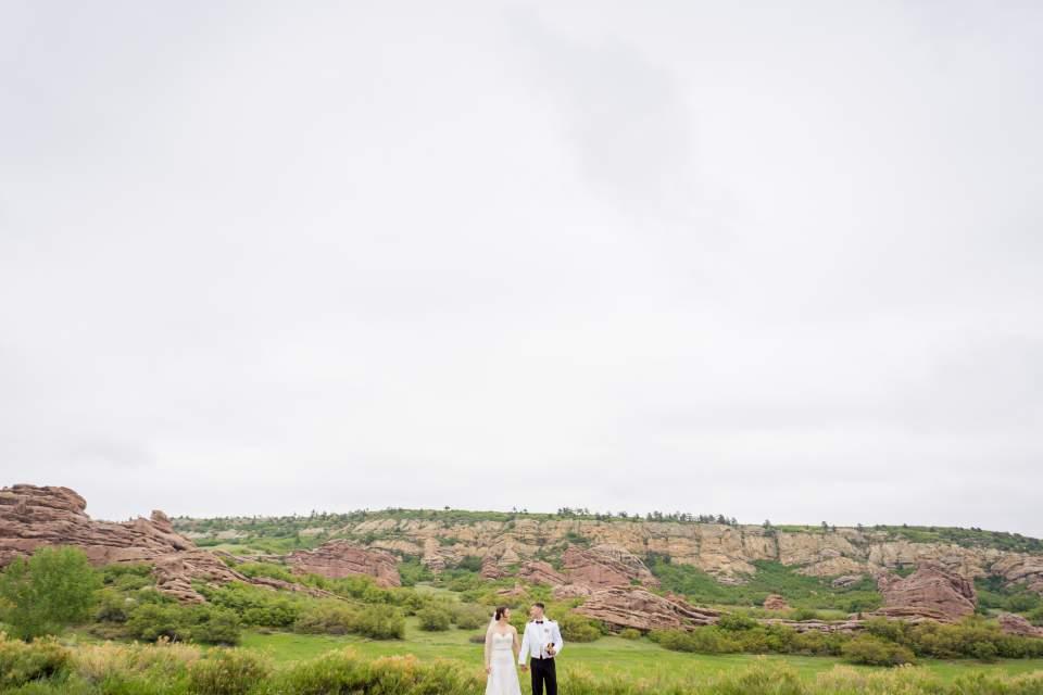 south valley park wedding photos denver