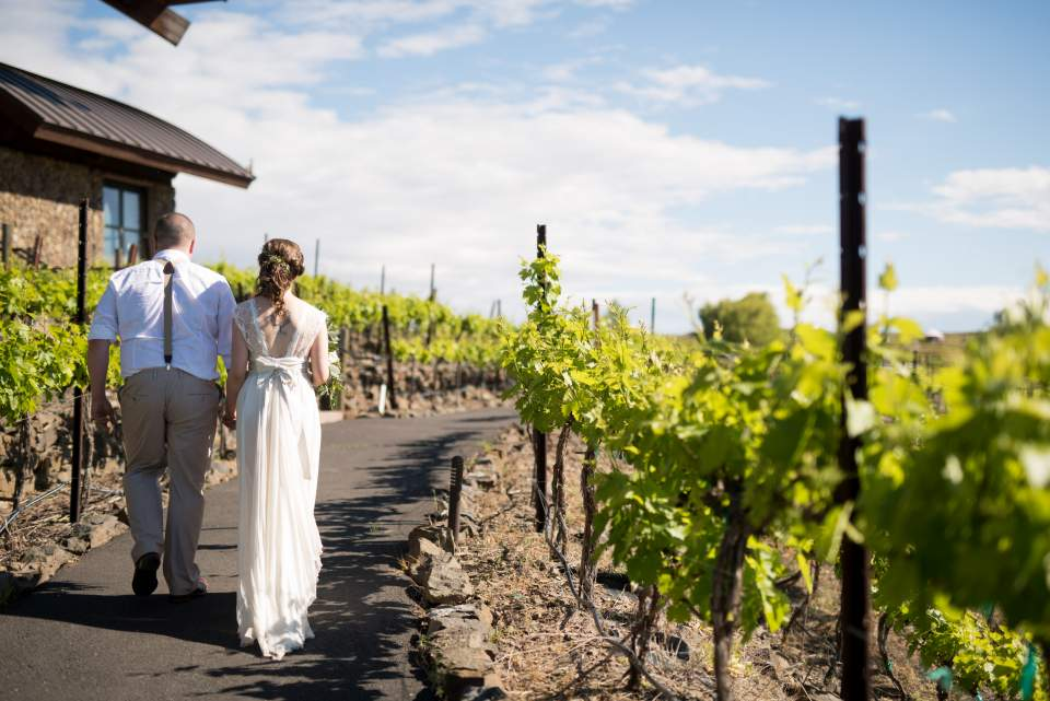 sunny cave b winery wedding