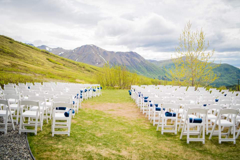 wedding ceremony at arctic valley anchorage alaska
