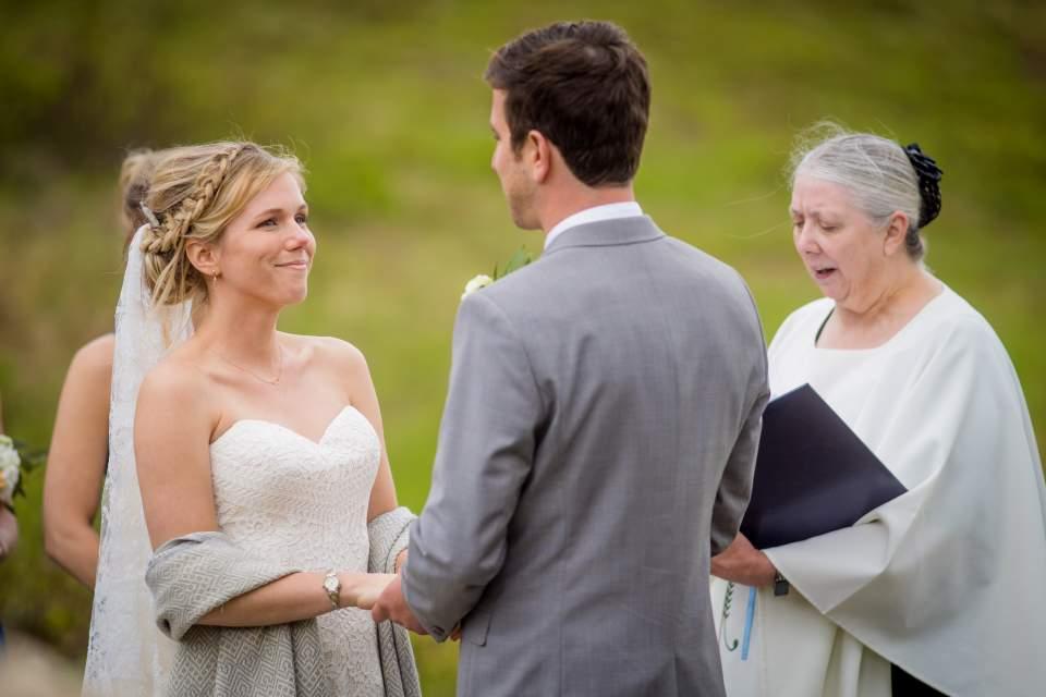 wedding ceremony in anchorage