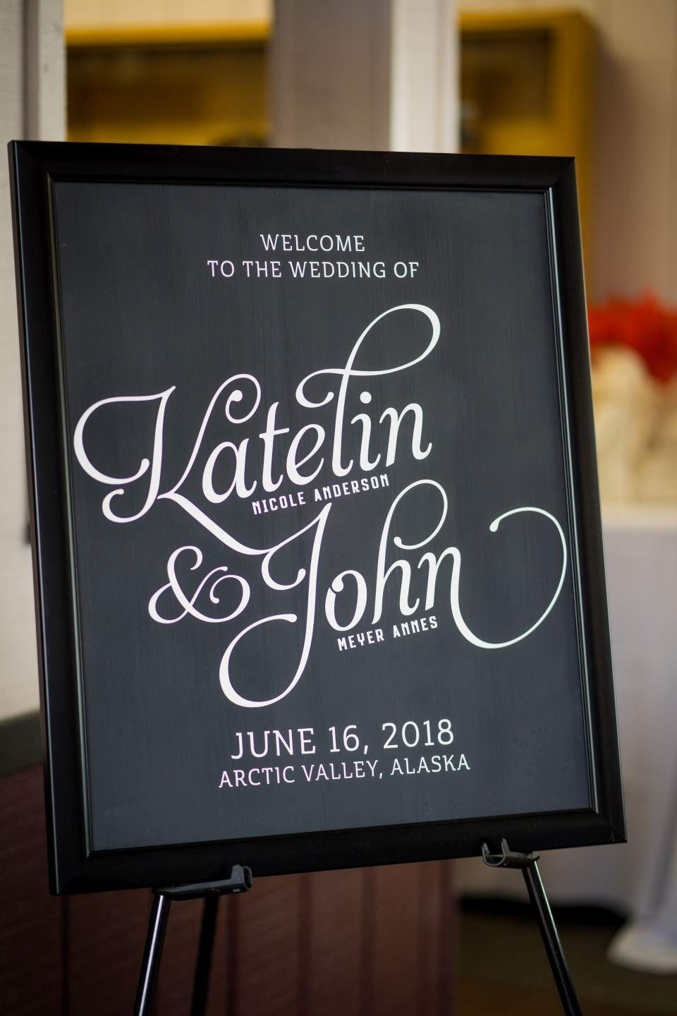 wedding reception at arctic valley