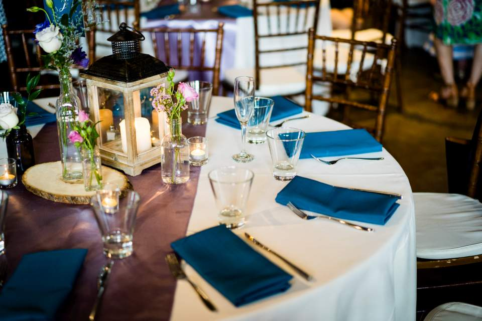 wedding reception at the foundry by herban feast