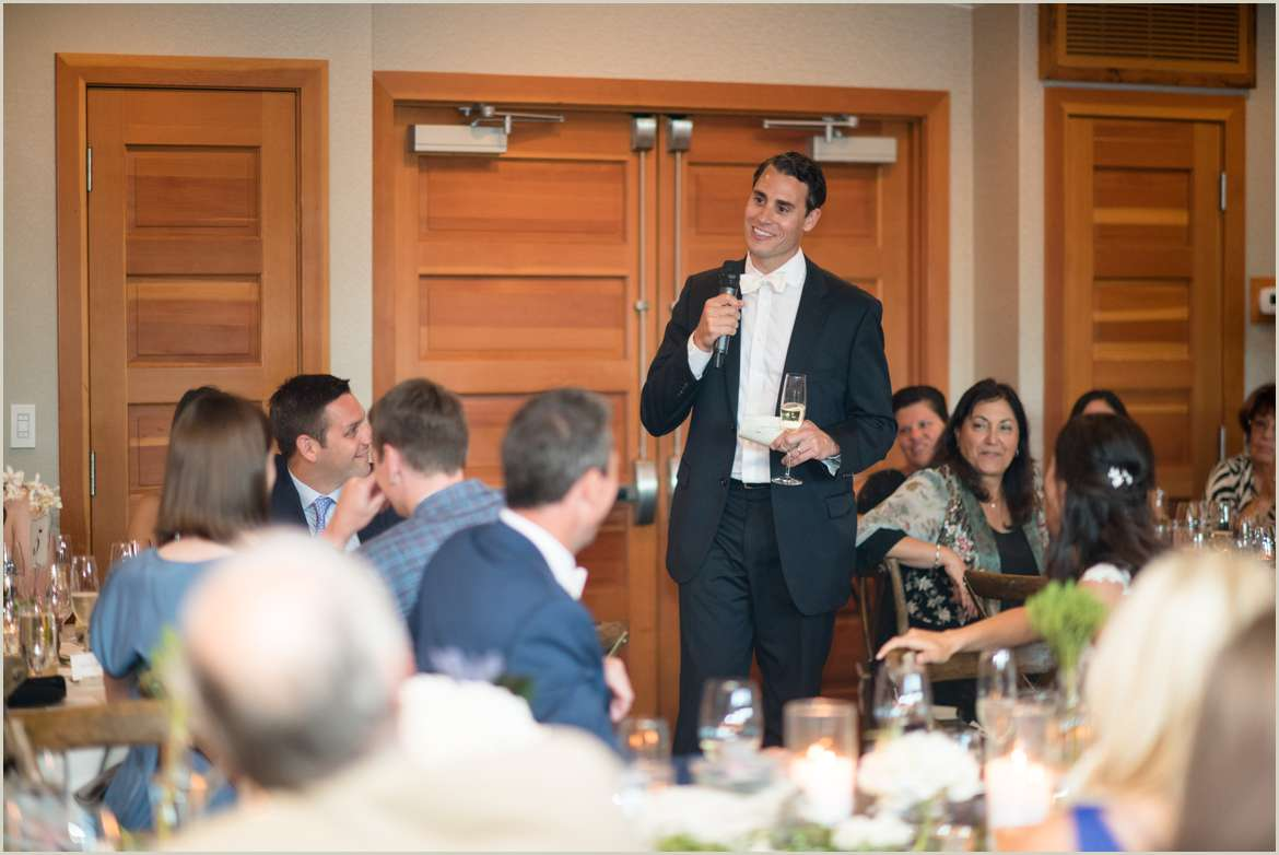 best man giving toast at willows lodge reception 1