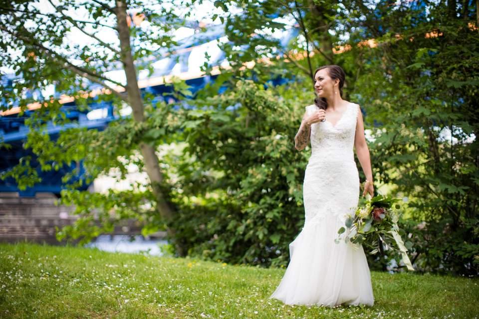bridal portraits seattle washington wedding