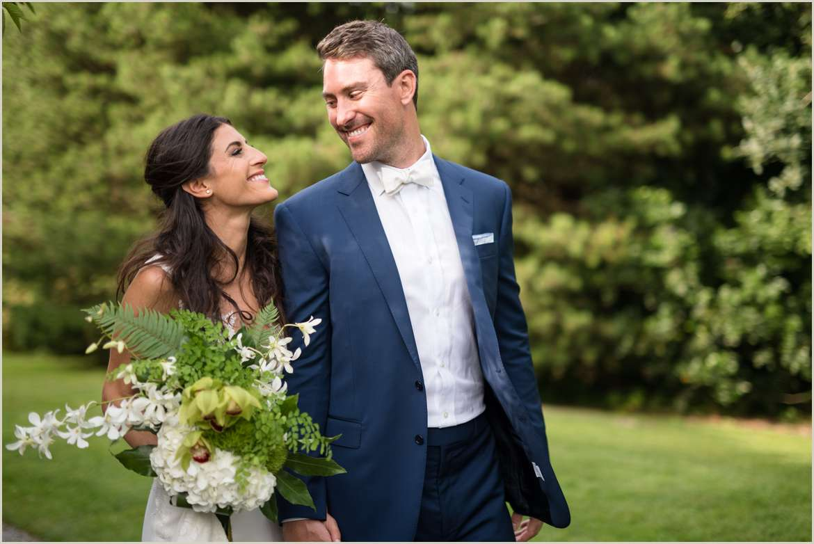 bride and groom at willows lodge woodinville wedding 1