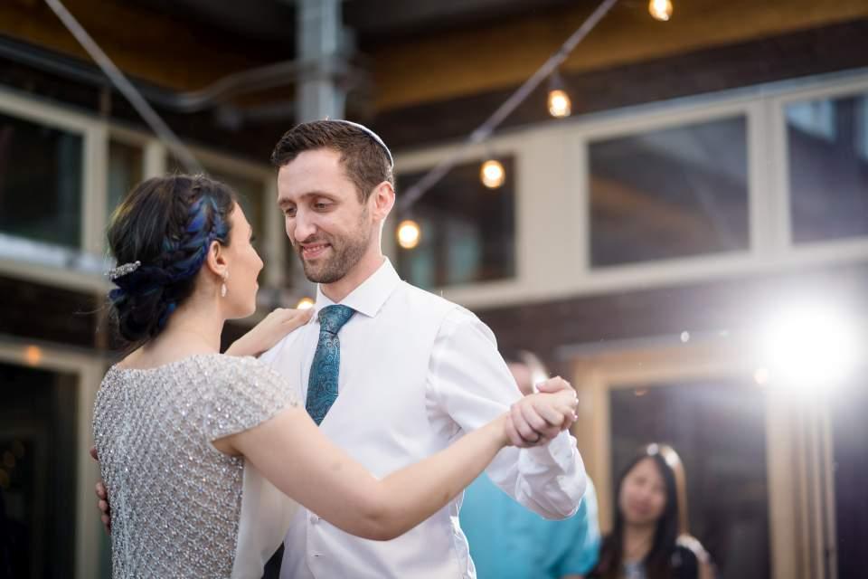 bride and groom first dance cuh wedding