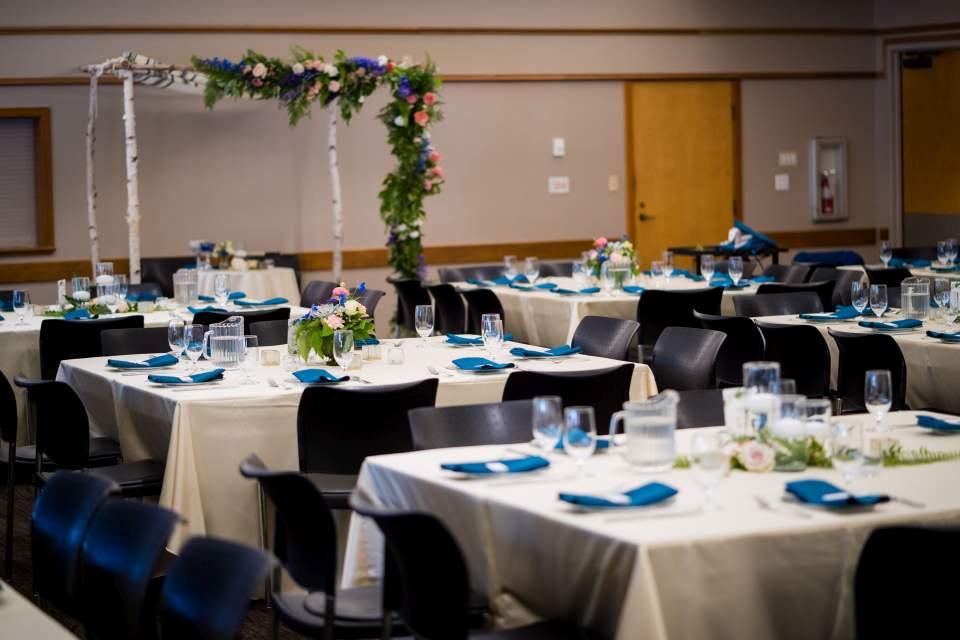 center for urban horticulture wedding reception