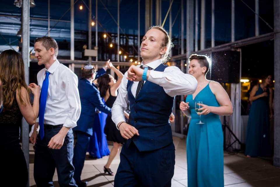 fun candid dancing photos seattle wedding