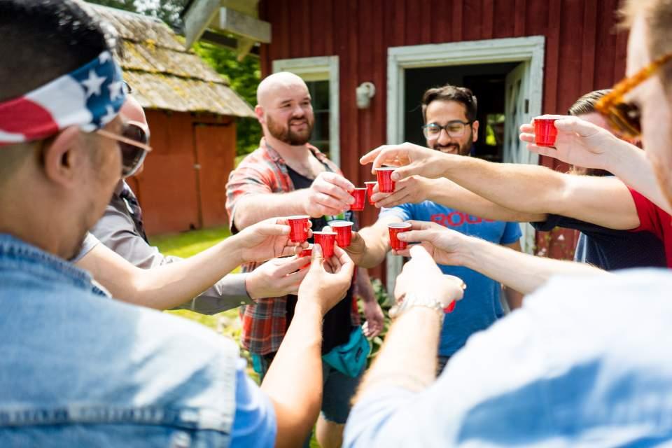guys taking a shot