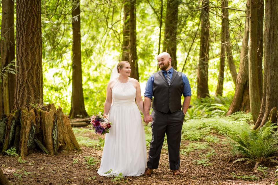 kitsap peninsula wedding photos