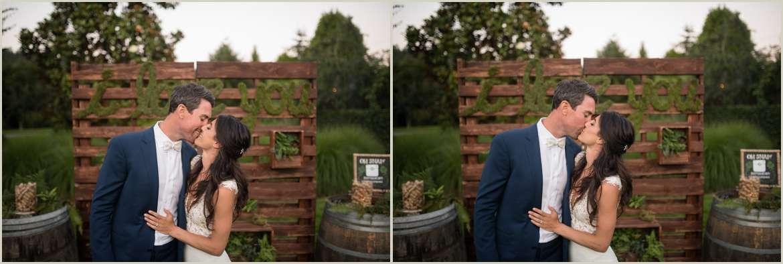 moss and greenery wedding backdrop woodinville