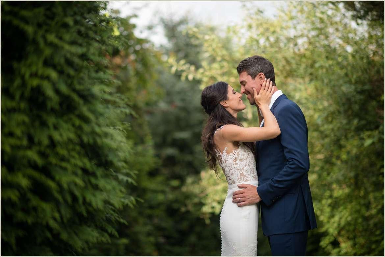 romantic wedding at willows lodge