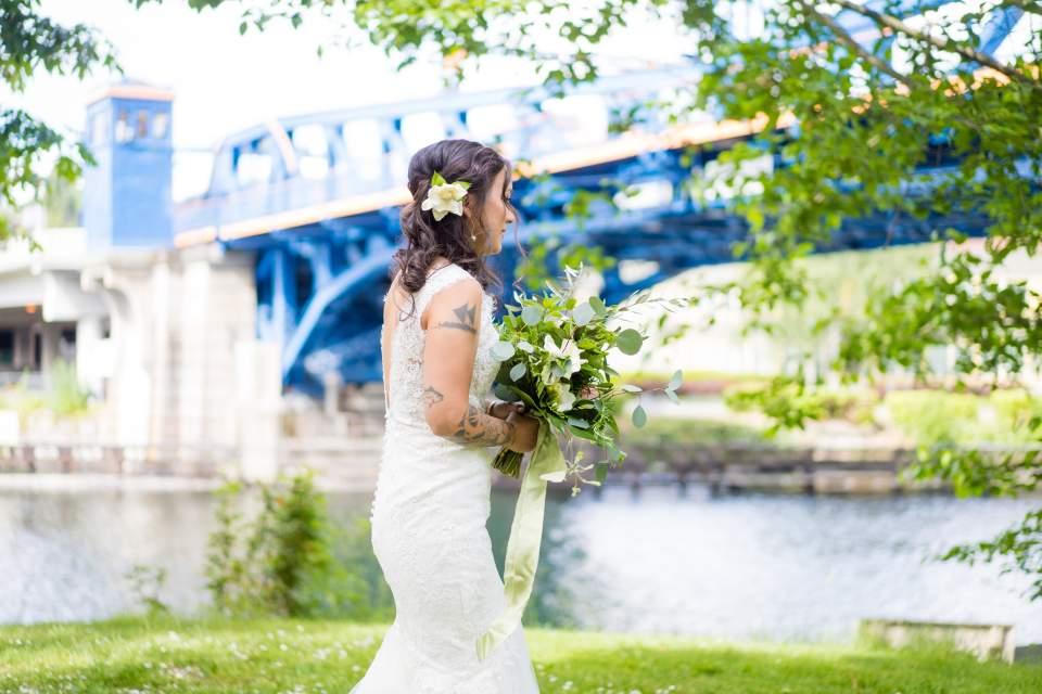 same sex brides first look