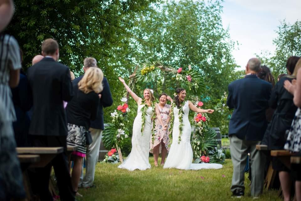 same sex wedding alquist family winery salt and pine seattle wedding photographers