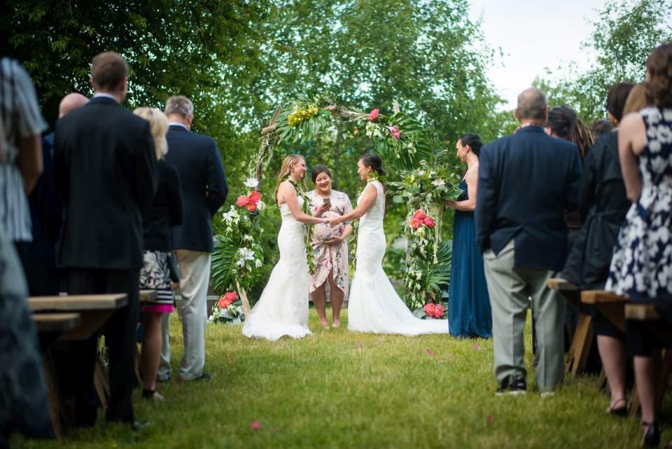 same sex wedding seattle wedding photogrpahers