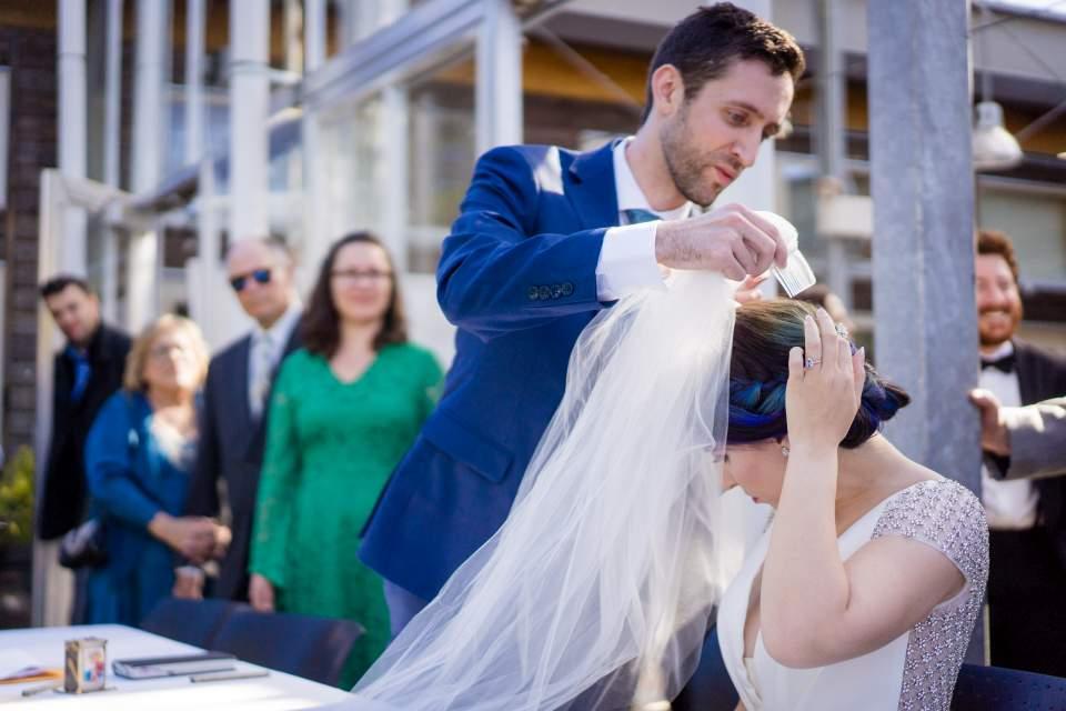 seattle jewish wedding at cuh