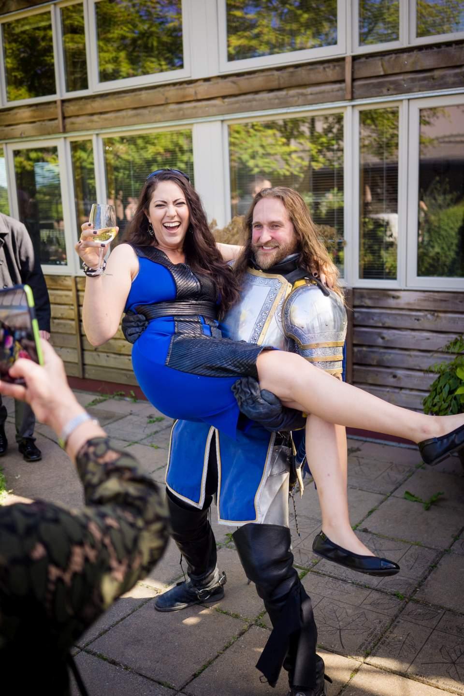 seattle knight wedding apperance