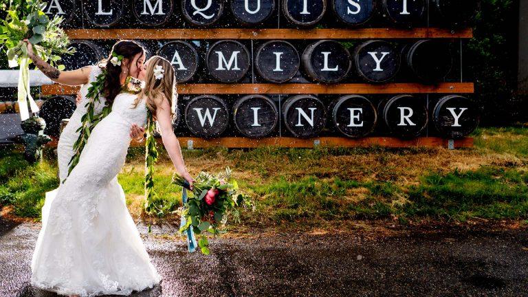 Almquist Family Winery Wedding | Seattle Wedding Photographers
