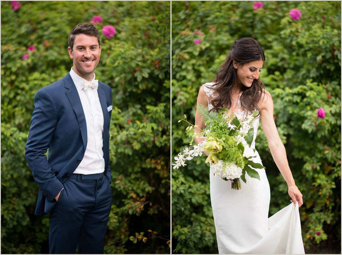 simple luxury wedding at the willows lodge