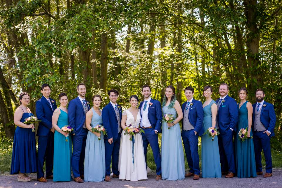 spring seattle wedding at center for urban horticulture