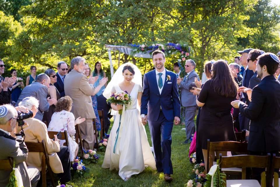 spring wedding at cuh