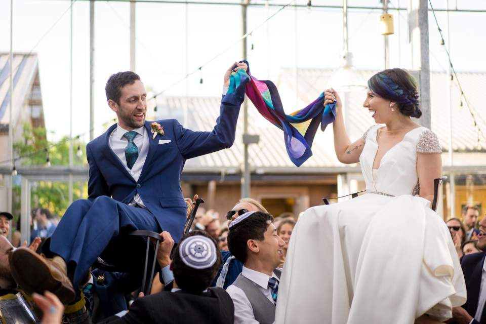 the hora traditional jewish chair dance