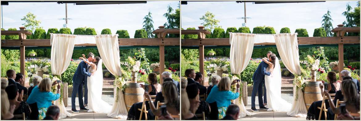 the willows lodge wedding woodinville washington