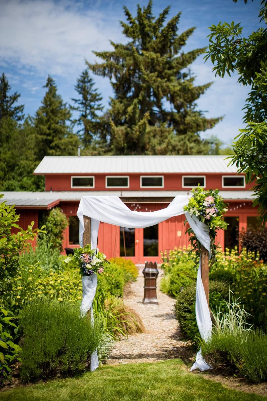 wedding ceremony arch