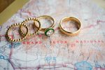 adventure wedding ring photos map themed wedding invites