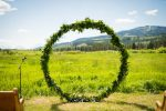 circular wedding arbor arch ceremony