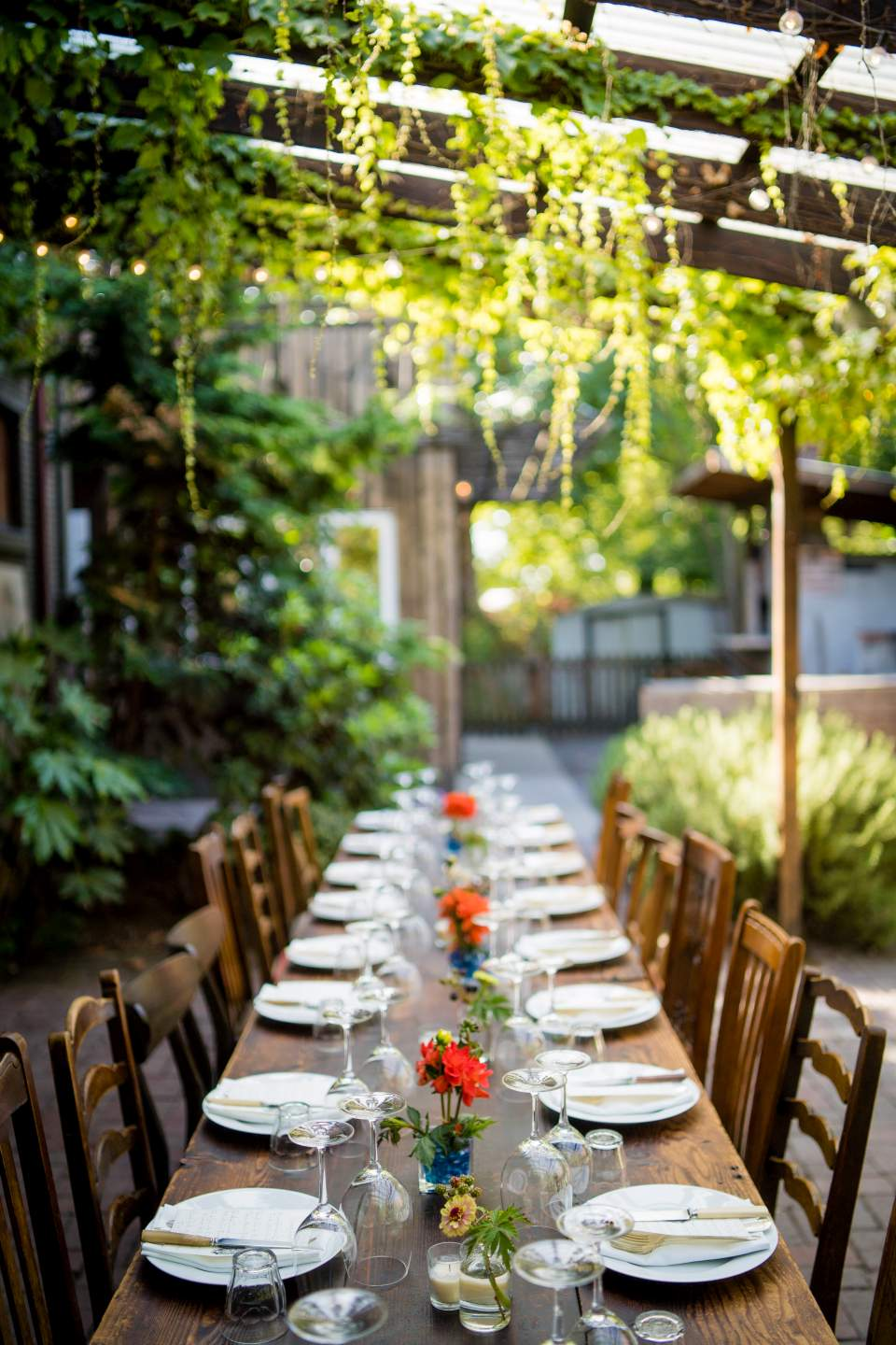 corson building table scape boho wedding