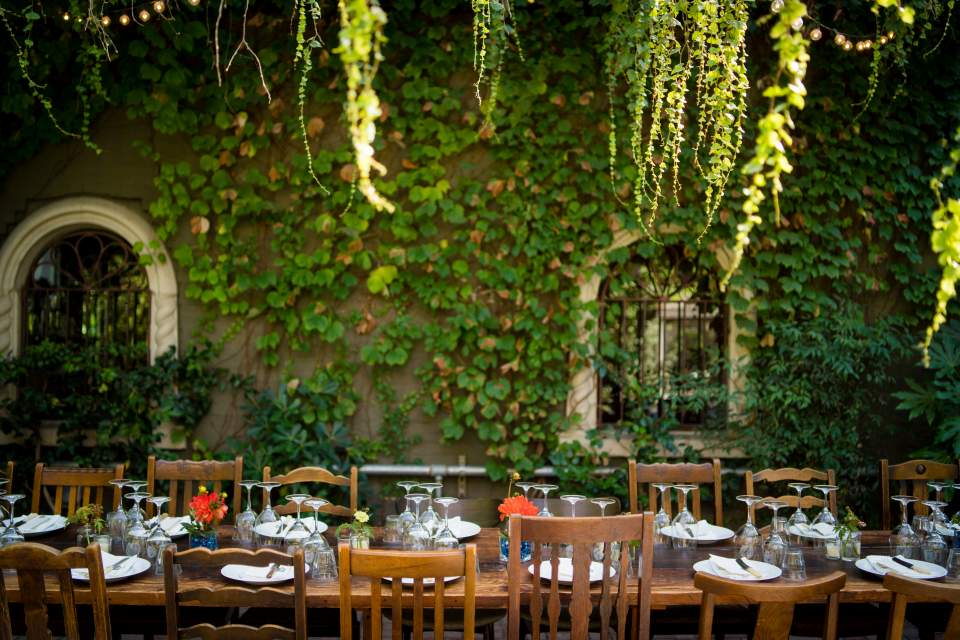corson building vine wall