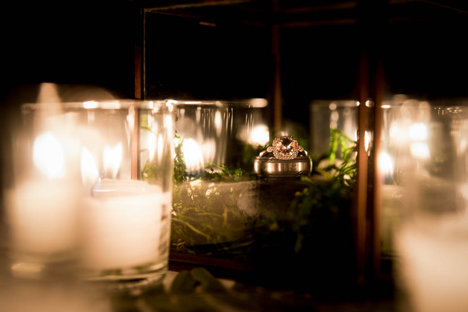creative ring shot wedding photographer