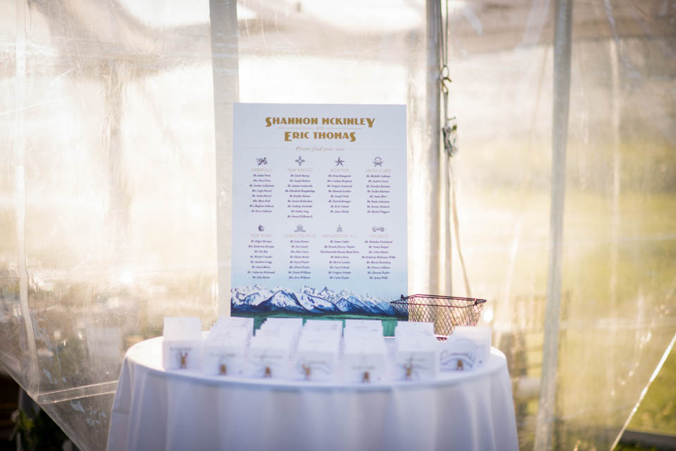 elegant rustic reception details seating chart