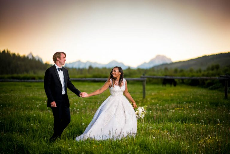 Turpin Meadow Ranch Wedding | Jackson Wyoming Wedding Photographers