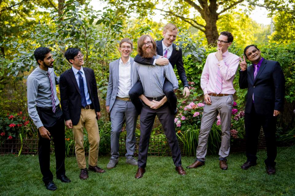 friends photos wedding offbeat
