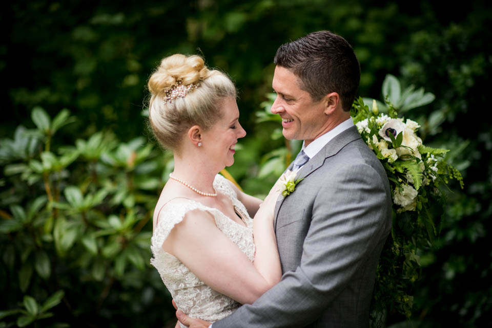 seattle wedding photographers salt and pine bride and groom candid portrait