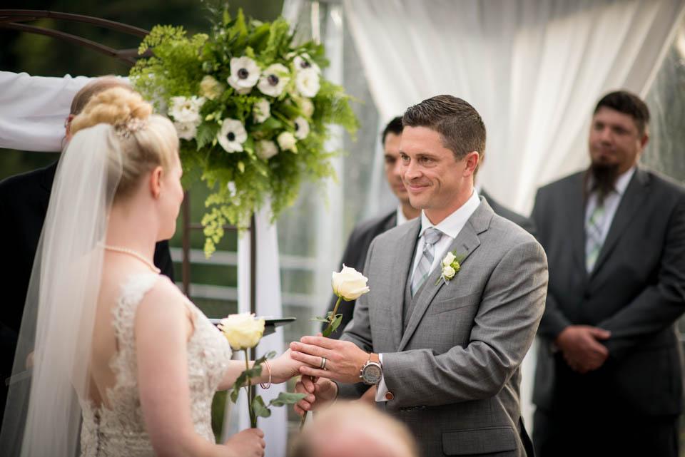 tent wedding ceremony photos