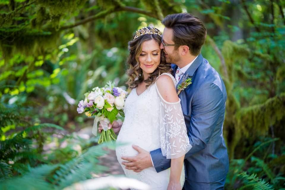 treehouse point elopement wedding photos