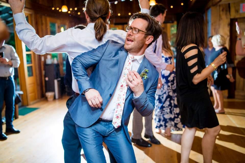treehouse point wedding reception