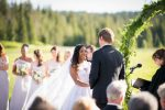 turpin meadow ranch jackson wy wedding ceremony photos