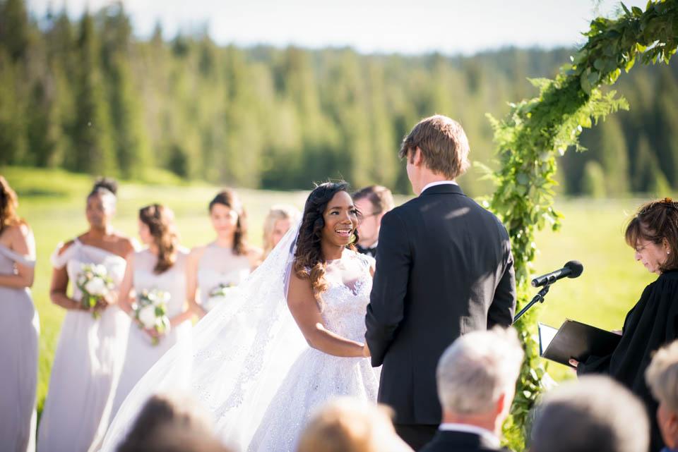 turpin meadow ranch jackson wy wedding ceremony photos