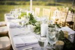 turpin meadow ranch reception details elegant outdoor wedding table scapes
