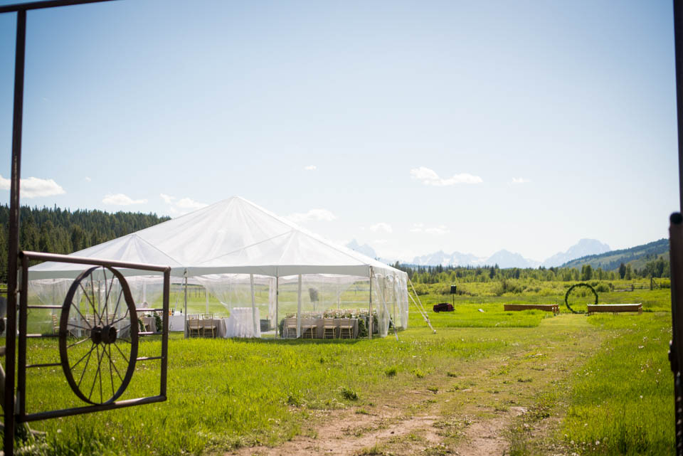 turpin meadow ranch reception space tent