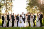 wedding party group photo turpin meadow ranch grand teton