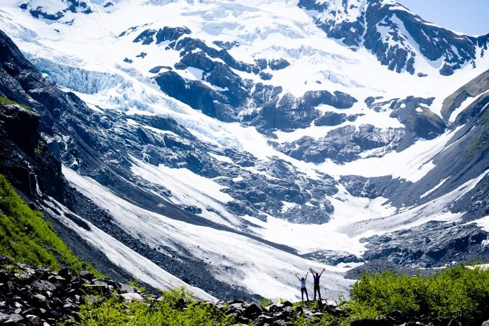 alaska mountain adventure session