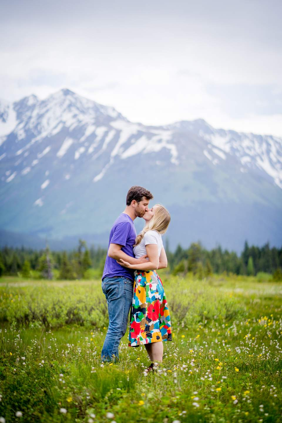 alyeska engagement photos