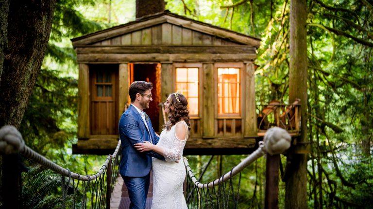 TreeHouse Point Wedding | Seattle Wedding Photographers