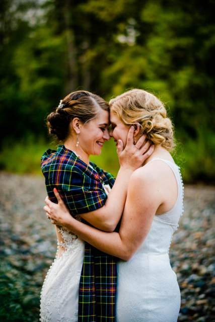 adventurous brides mountain wedding 2