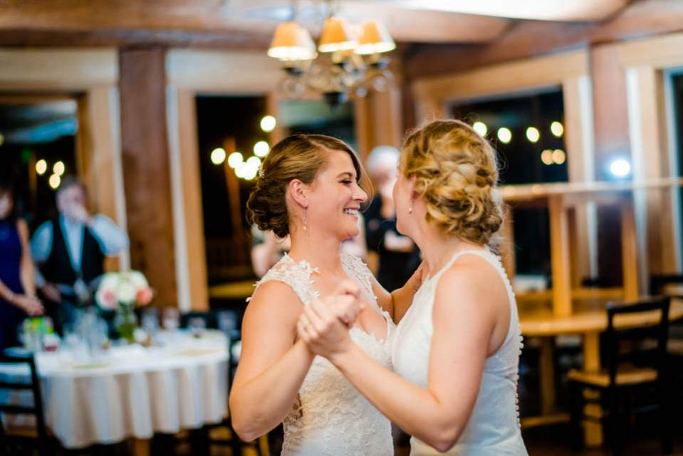 cabin creek lodge wedding reception 2
